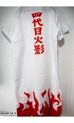 Naruto Shippuden Minato Namikaze Yondaime Cosplay Fourth Hokage Ogrtač (C036)